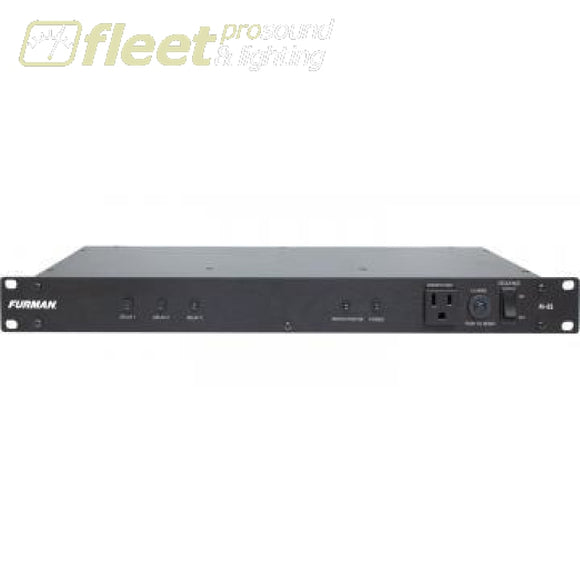 Furman M-8S 120V/15A Power Sequencer 8 Switched Outlets In The Rear Power Conditioners