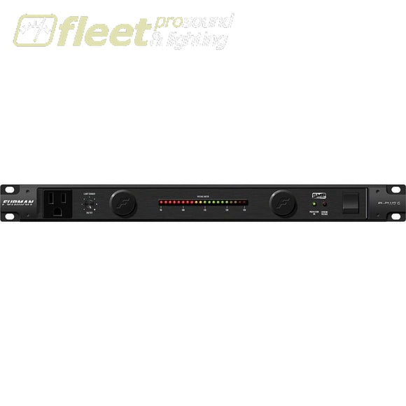 Furman Pl-Plus-C Pro Series Power Conditioner With Rack Lights And Analog Led Volt Meter Power Conditioners