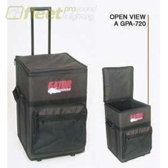 Gator Gpa720 Rolling Powered Mixer Case Mixer Cases