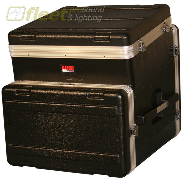 Gator Grc10X6 - 10 Spaces On Tilt 6 Spaces Below. 19 Polyethylene Rack Dj Cases
