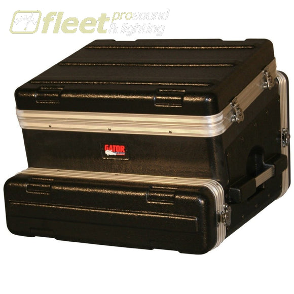 Gator Grc8X2 - 8 Spaces On Tilt 2 Spaces Below. 19 Polyethylene Rack Dj Cases