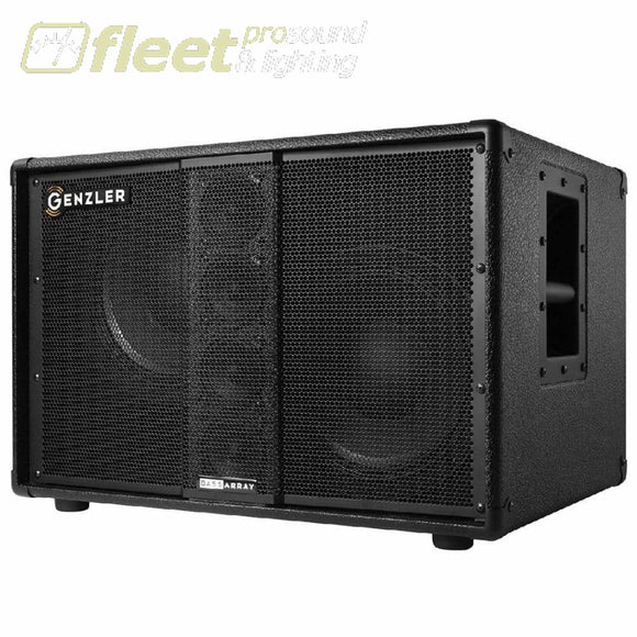Genzler Ba210-3 Bass Array Straight 500W Cabinet Bass Cabinets
