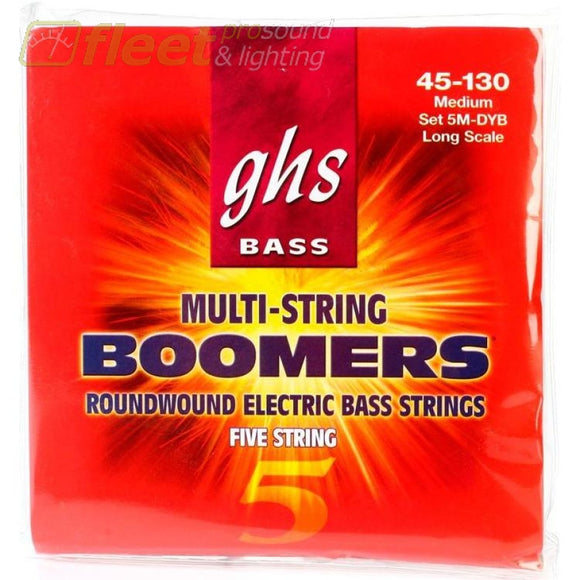 Ghs 5-5M-Dyb 5-String Bass Strings With Low-B Bass Strings