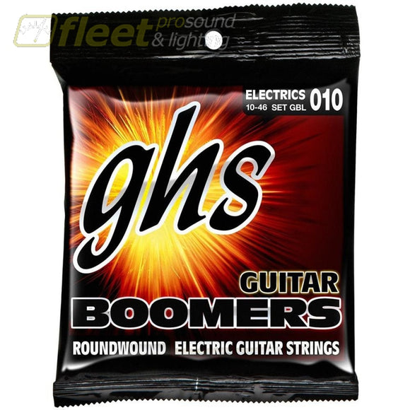 Ghs Gbl Boomers Light 010 Electric Guitar Strings Guitar Strings