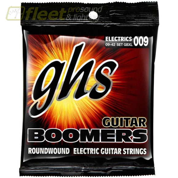 Ghs Gbxl Boomers Extra Light Electric Guitar Strings Guitar Strings