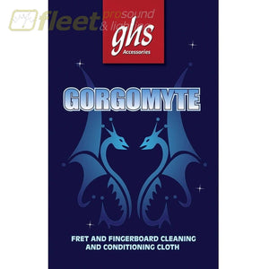 Ghs Gorgomyte Fret And Fingerboard Cleaning Cloth Polish & Cleaner