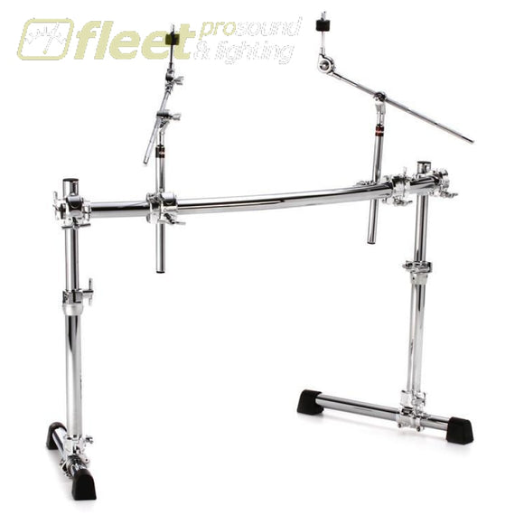 Gibraltar Chrome Series Ht Adjustable Drum Rack - Curved DRUM RACKS