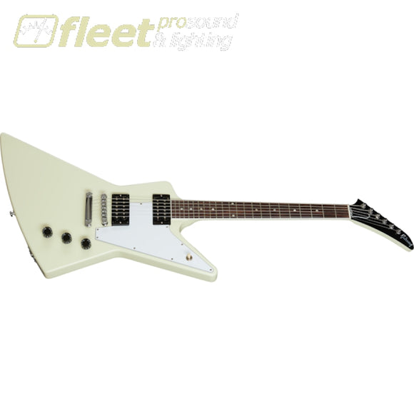 Gibson DSXS00-CWCH 70s Explorer Guitar w/ Case - Classic White SOLID BODY GUITARS