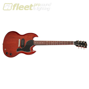 Gibson SGJR00-VCNH SG Junior Guitar w/ Case - Vintage Cherry SOLID BODY GUITARS