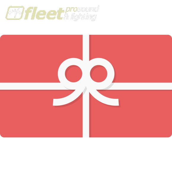 Gift Card - $25 - 50 or $100 options GIFT CARDS