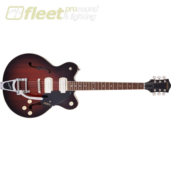 Grestch G2622T-P90 Streamliner Center Block Double-Cut P90 with Bigsby Laurel Fingerboard Guitar - Forge Glow (2807500597) HOLLOW BODY