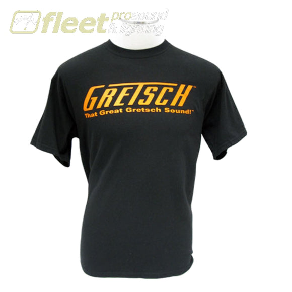 Gretsch 0991983606 T-Shirt Ex-Large - Black Clothing