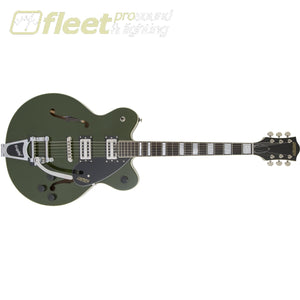 Gretsch 2806100580 G2622T Streamliner Center Block With Bigsby® Laurel Fingerboard Broadtron Bt-2S Pickups Torino Green Hollow Body Guitars