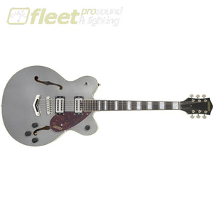 Gretsch 2806200569 G2622 Streamliner Center Block With V-Stoptail Laurel Fingerboard Broadtron Bt-2S Pickups Phantom Metallic Hollow Body