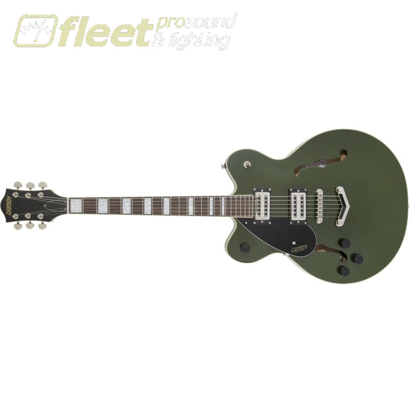 Gretsch 2806320580 G2622LH Streamliner Center Block With V-Stoptail Left-Handed Laurel Fingerboard Broadtron Bt-2s Pickups Torino Green LEFT