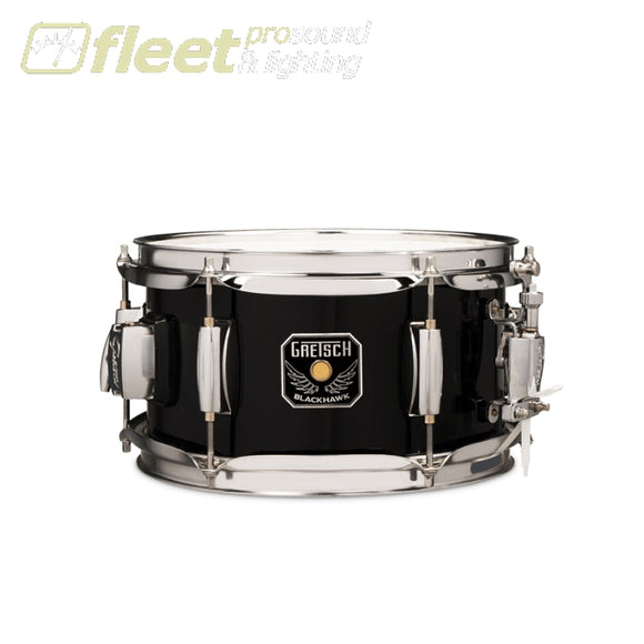 GRETSCH BLACKHAWK MIGHTY MINI 5.5X10 SNARE DRUM - BH-5510-BK