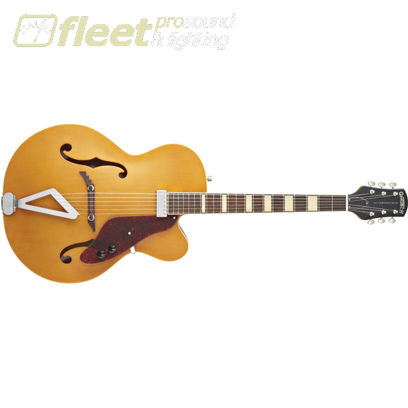 Gretsch G100Bkce Synchromatic Archtop Single-Cut With Synchromatic Tailpiece - Flat Natural (2515831521) Hollow Body Guitars