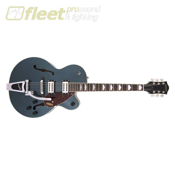 Gretsch G2420T Streamliner Hollow Body with Bigsby BroadTron BT-2S Pickups Laurel Fingerboard Guitar - Gunmetal (2804600568) HOLLOW BODY