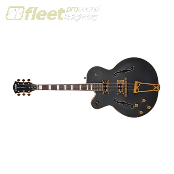 Gretsch G5191Bk Tim Armstrong Signature Electromatic® Hollow Body With Gold Hardware Left-Handed (2516020506) Left Handed Electric Guitars