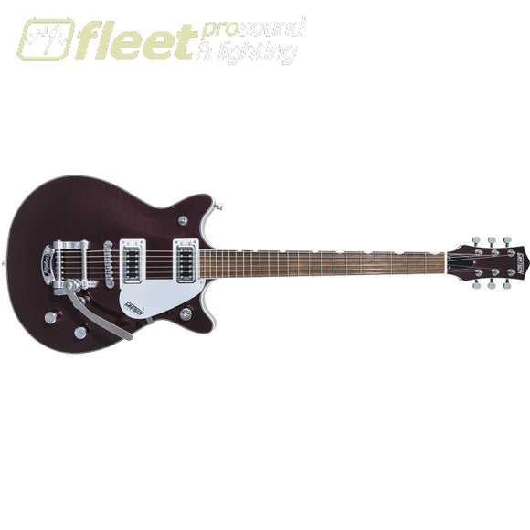 Gretsch G5232T Electromatic Double Jet FT with Bigsby Laurel Fingerboard - Dark Cherry Metallic (2508210539) SOLID BODY GUITARS