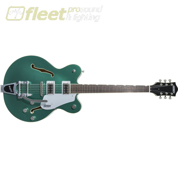 Gretsch G5622T Electromatic Center Block Double-Cut with Bigsby Laurel Fingerboard - Georgia Green (2508200577) HOLLOW BODY GUITARS