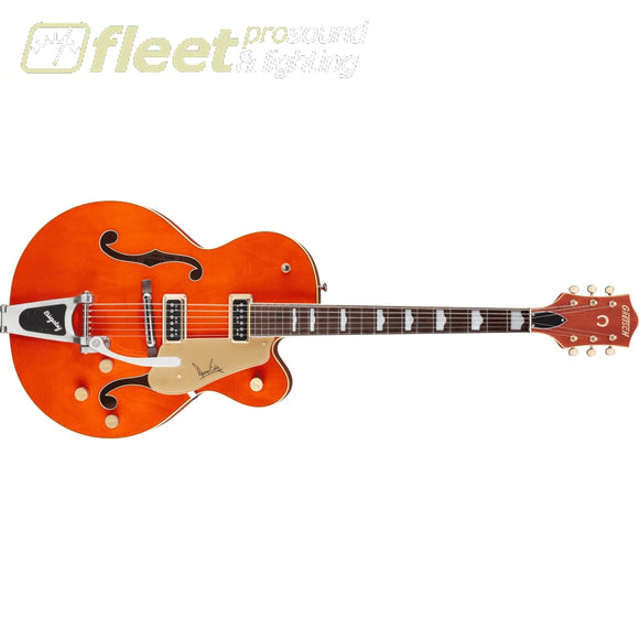 Gretsch G6120DE Duane Eddy Signature Hollow Body with Bigsby Rosewood Fingerboard Guitar - Desert Sunrise Lacquer (2401264822) HOLLOW BODY