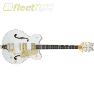 Gretsch G6636T Players Edition Falcon Center Block Double-Cut with String-Thru Bigsby Filter'Tron Pickups - White (2400900805) HOLLOW BODY