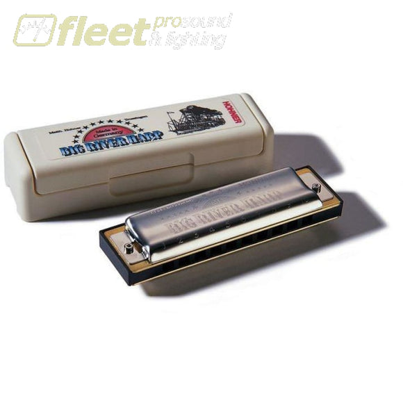Hohner Big River 590F Diatonic Harmonica - Key Of F Harmonicas