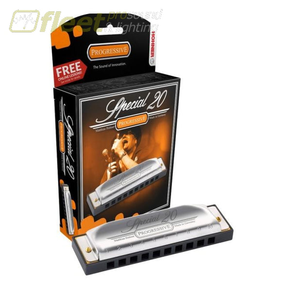 Hohner Special 20 560Pbx-D - Key Of D Harmonicas