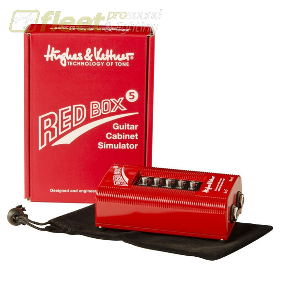 Hughes & Kettner Redbox5 Di Box With Cab Simulator Di Boxes