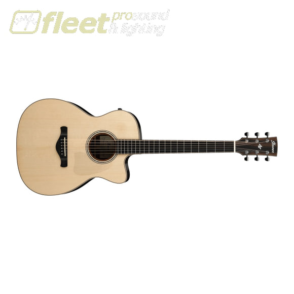 Ibanez ACFS580CE-OPS Artwood Concert Fingerstyle Acoustic Guitar w/ Case - Open Pore Semi-Gloss 6 STRING ACOUSTIC WITH ELECTRONICS