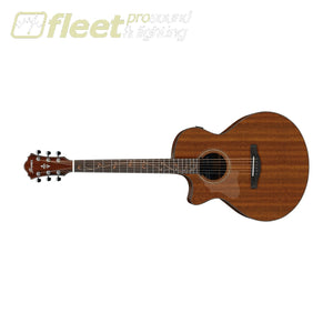 Ibanez AE295L-LGS Sprice Top Left Handed Guitar - Natural Low Gloss LEFT HANDED ACOUSTICS