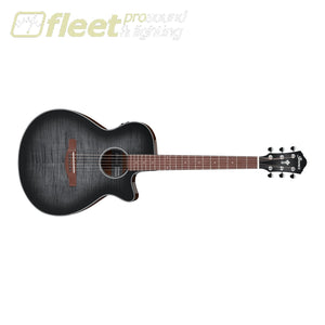 Ibanez AEG70TCH Acoustic Electric Guitar - Transparnet Charcoal Burst High Gloss 6 STRING ACOUSTIC WITH ELECTRONICS