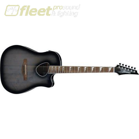 Ibanez ALT30-TCB Acoustic Guitar - Trans Charcoal Burst 6 STRING ACOUSTIC WITH ELECTRONICS