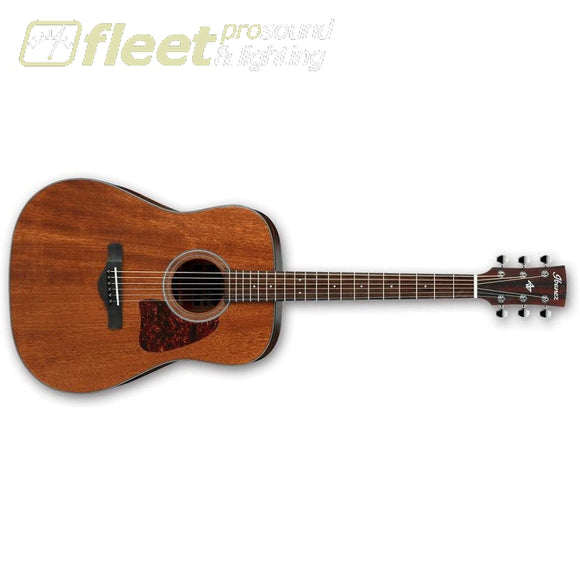 Ibanez Aw54-Opn Artwood Series 6 String Acoustic Guitar In Open Pore Natural String Acoustic Without Electronics