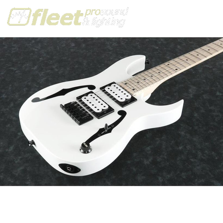 ibanez pgmm31 wh paul gilbert signature series electric guitar white fleet pro sound. Black Bedroom Furniture Sets. Home Design Ideas