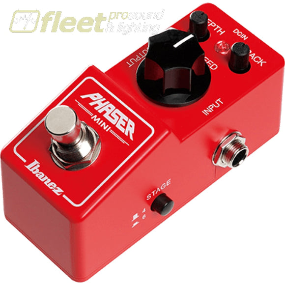 Ibanez PHMINI Phaser Pedal GUITAR PHASER PEDALS