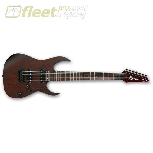 Ibanez Rg7421-Wnf 7-String Electric Guitar (Walnut Flat) 7 & 8 String Guitars
