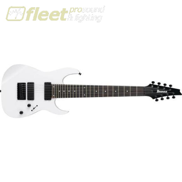 Ibanez Rg8-Wh Rg 8 String Guitar - White 7 & 8 String Guitars