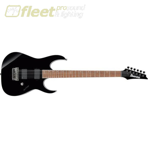 Ibanez RGIB21-BK Iron Label Electric Guitar - Black SOLID BODY GUITARS