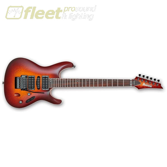 Ibanez S Series S6570Sk-Stb Electric Guitar (Sunset Burst) Locking Tremelo Guitars