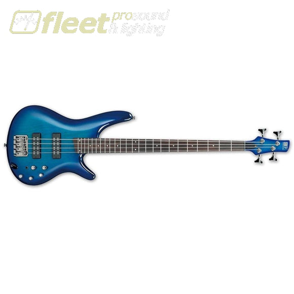 Ibanez Sr370E-Spb 4-String Electric Bass - Sapphire Blue 4 String Basses