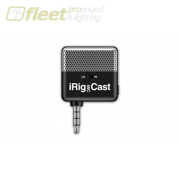 IK Multimedia iRIGMICCAST Condenser Microphone for Apple Product MOBILE DEVICE MICS