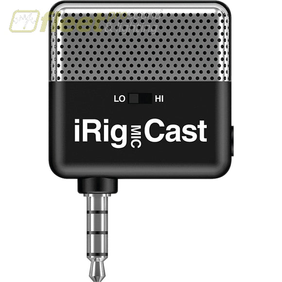 IK Multimedia iRIGMICCAST Condenser Microphone for IOS MOBILE DEVICE MICS