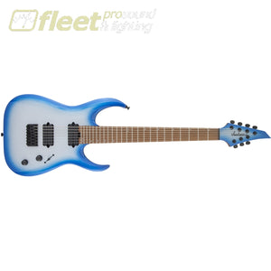 Jackson HT7 Pro Series Signature Misha Mansoor Juggernaut Caramelized Maple FB - Blue Sky Burst (2914007596) 7 & 8 STRING GUITARS