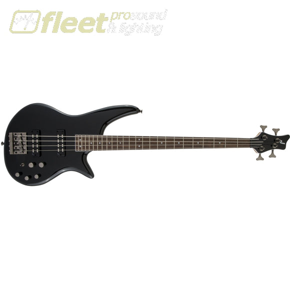 Jackson JS Series Spectra Bass JS3 Laurel Fingerboard 4 String Bass - Gloss Black (2919904503) 4 STRING BASSES