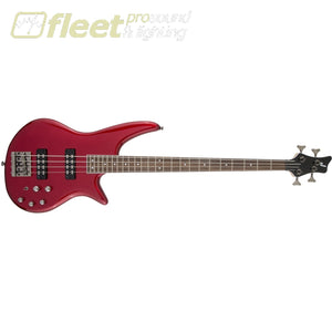 Jackson JS Series Spectra Bass JS3 Laurel Fingerboard 4 String Bass - Metallic Red (2919904573) 4 STRING BASSES