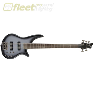 Jackson JS Series Spectra Bass JS3V Laurel Fingerboard 5 String Bass - Silverburst (2919005521) 5 STRING BASSES