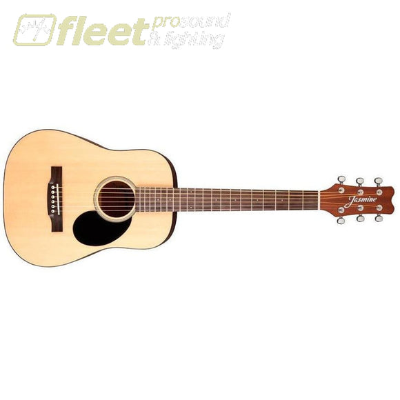 Jasmine Jm-10 Mini Acoustic Guitar Natural Traveler Acoustics