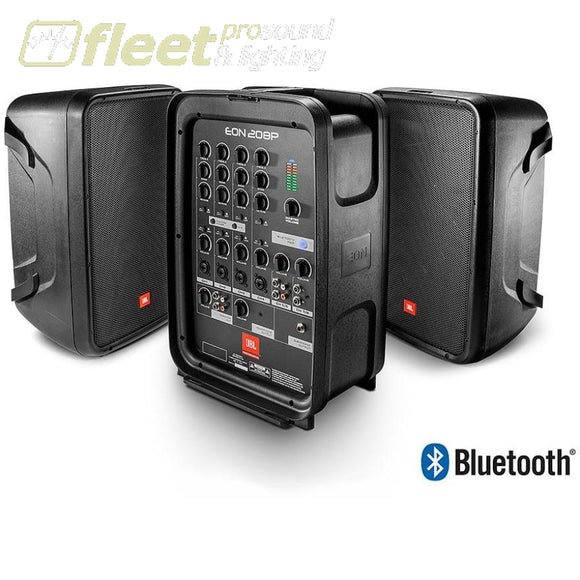JBL EON208P - 8 2-Way PA with Powered 8-Channel Mixer and Bluetooth® PORTABLE SOUND SYSTEMS